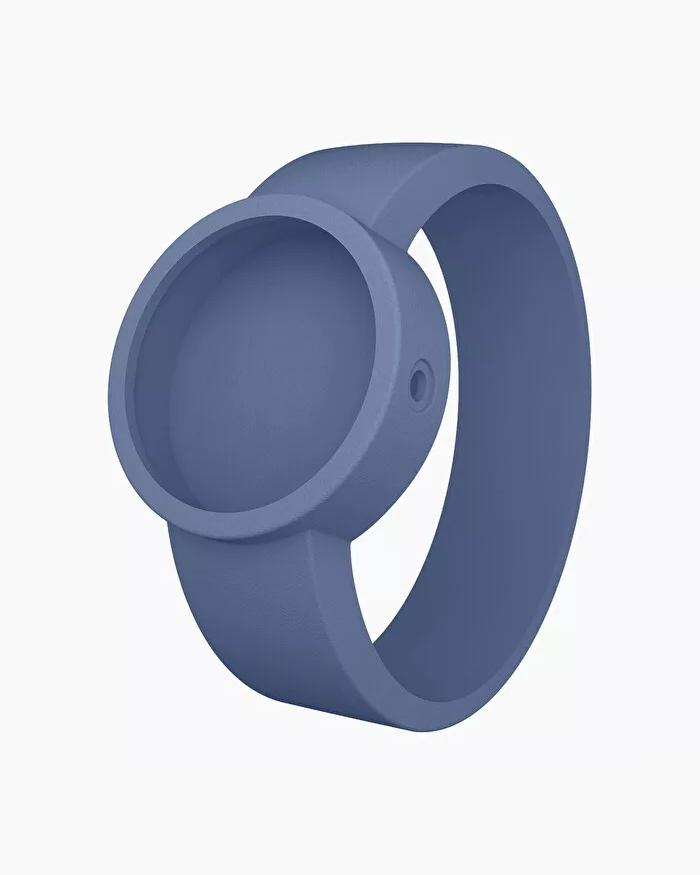 O clock silicone strap medium capri blue