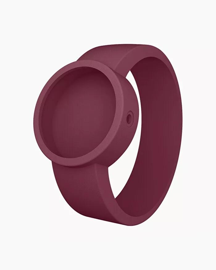 O clock silicone strap small purple