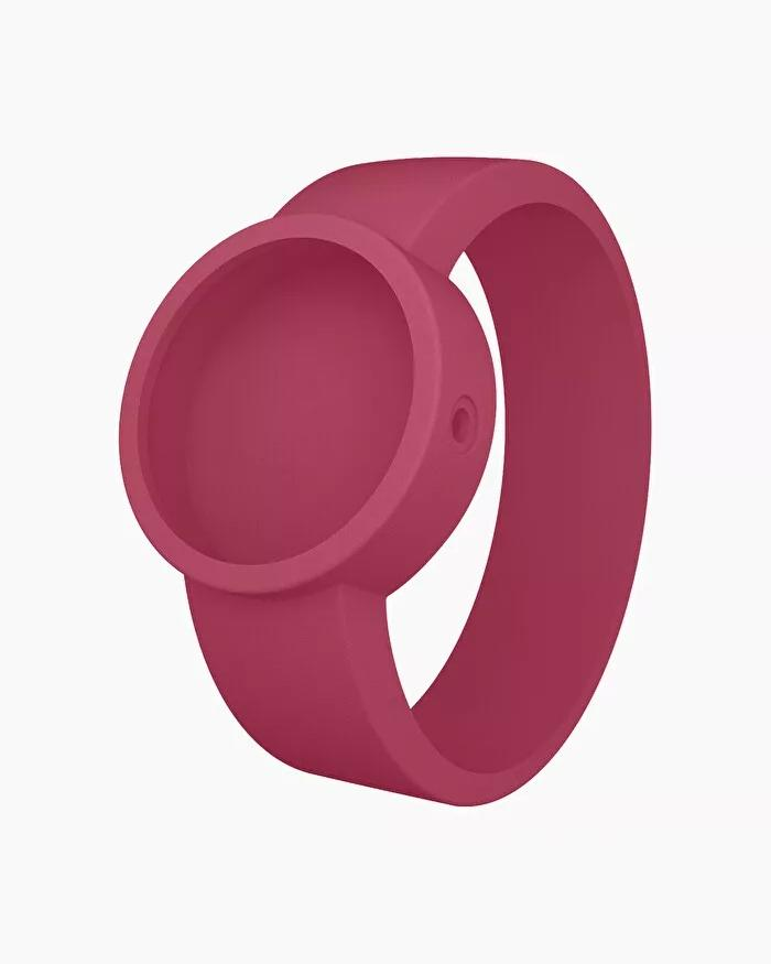 O clock silicone strap medium sangria