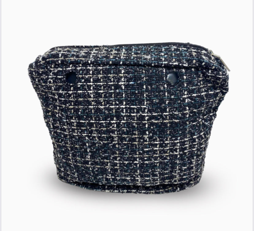 O bag mini inner tweed fabric