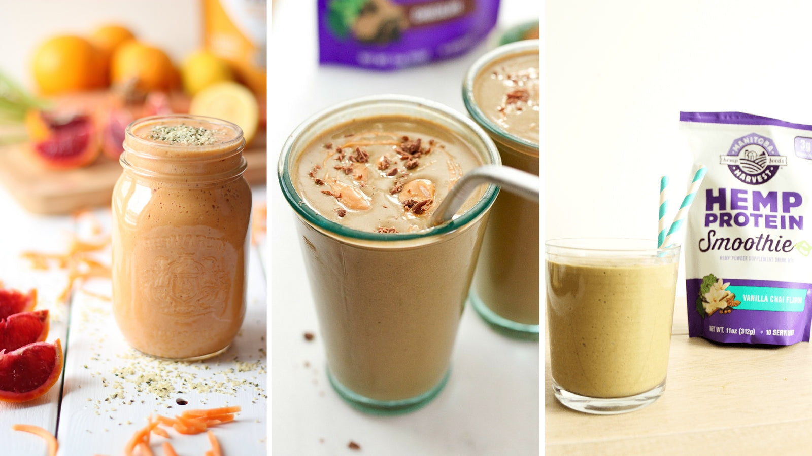 7 Hemp Smoothies