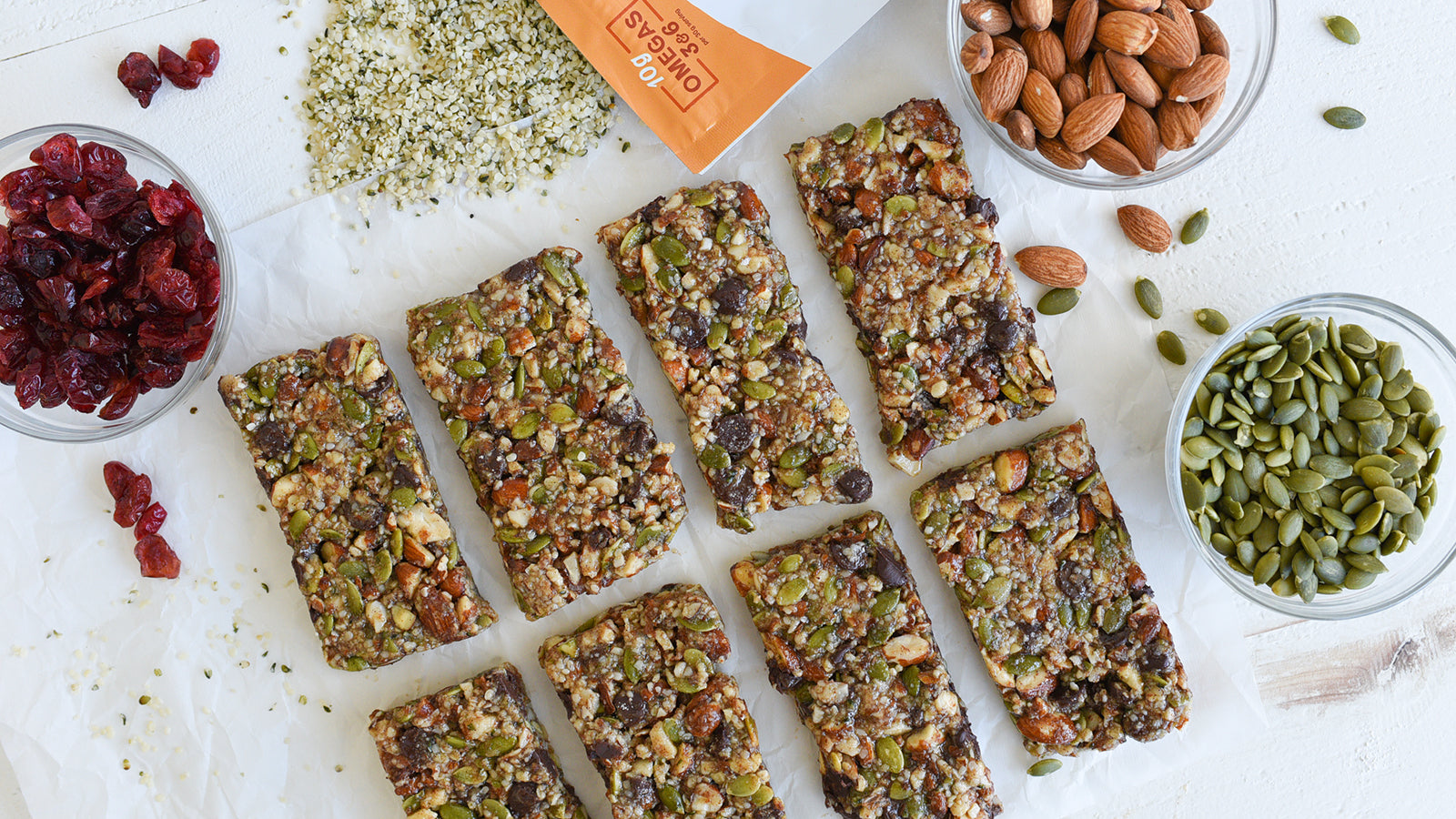 Pumpkin Spice Trail Bars