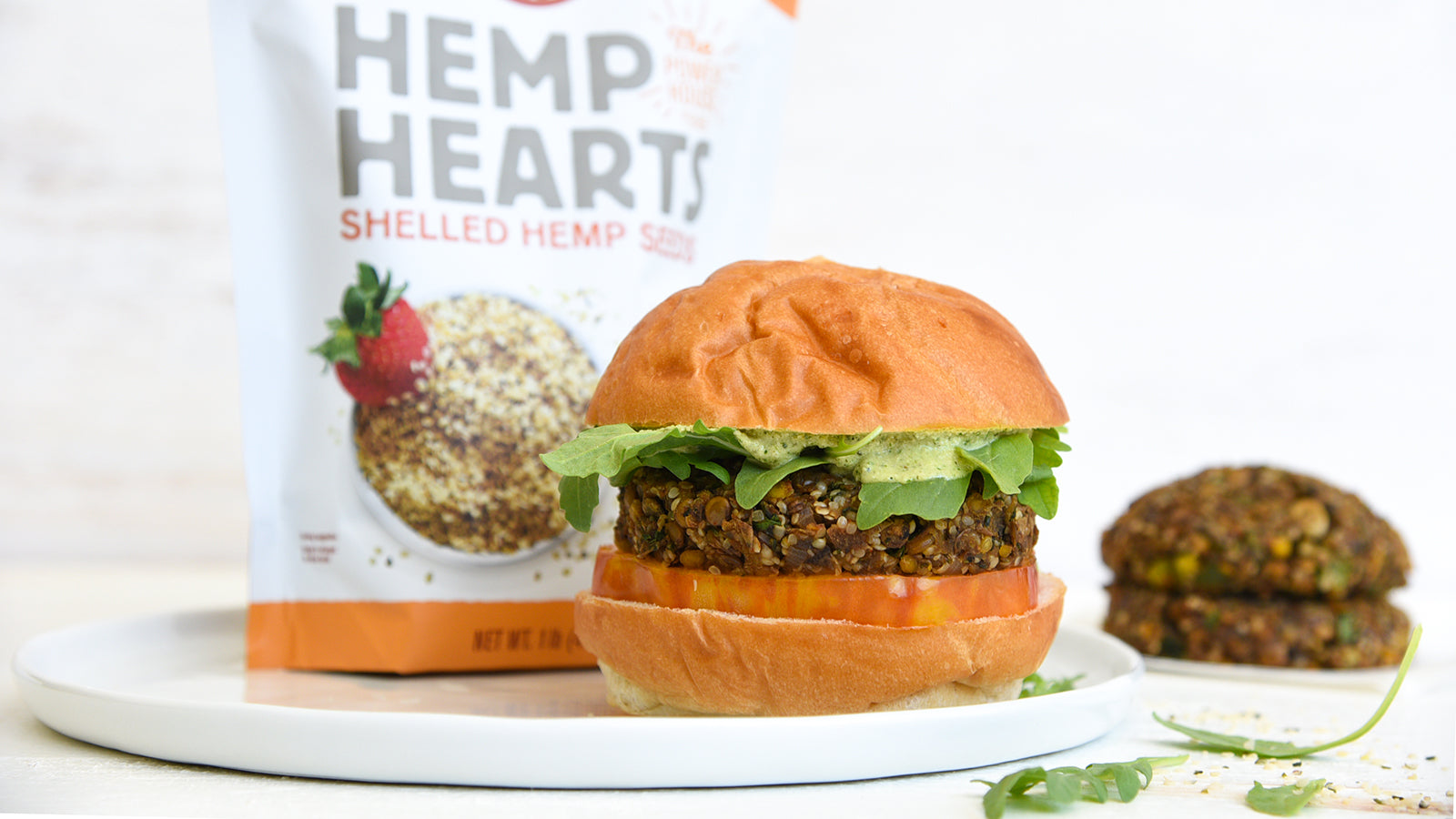 Protein-Packed Veggie Burger