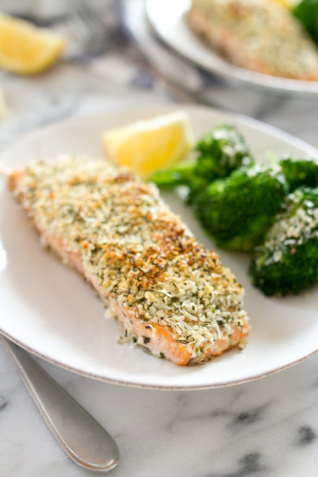 Hemp-Pecorino-Crusted-Salmon