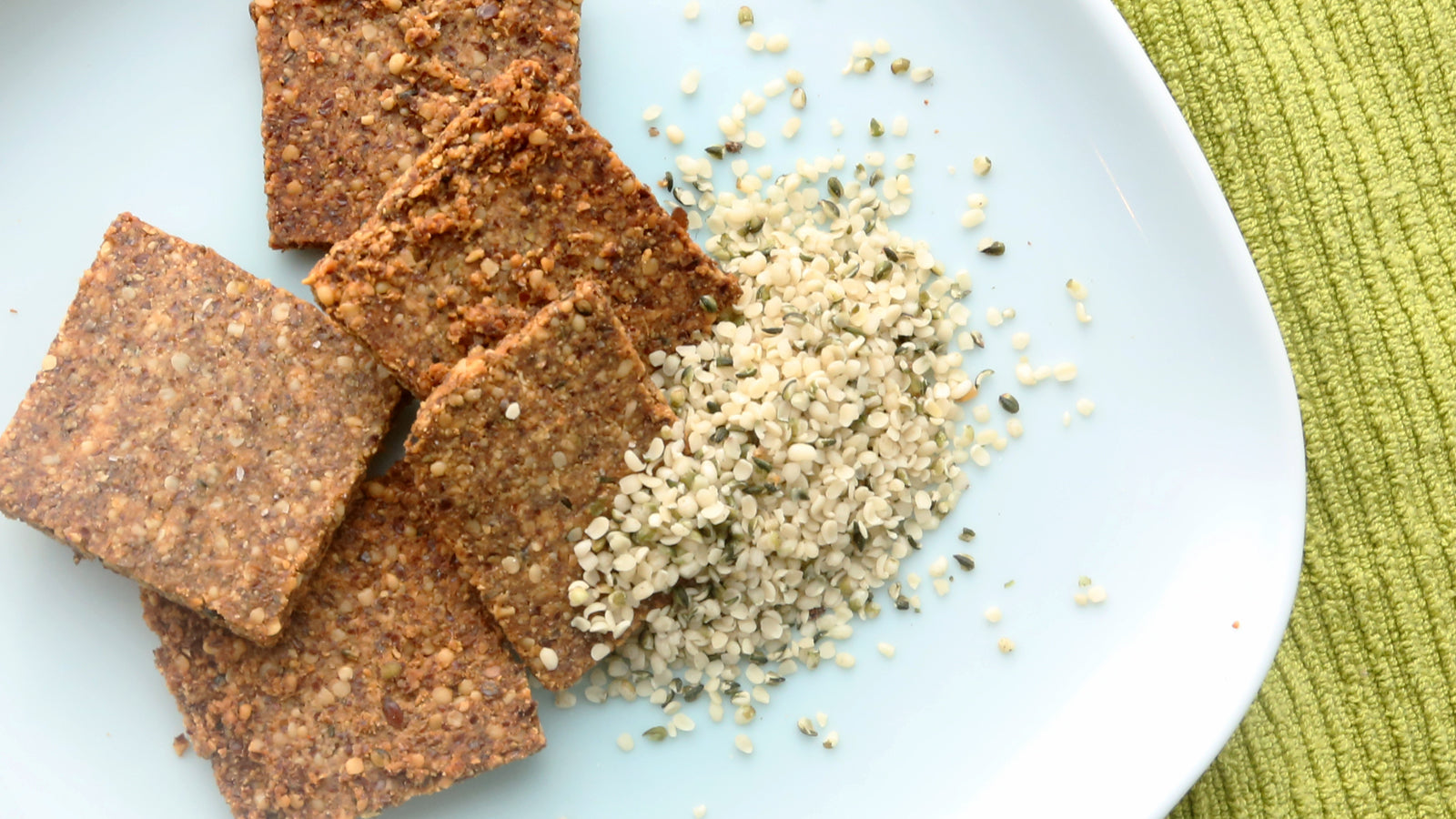 Hemp & Flax Crackers