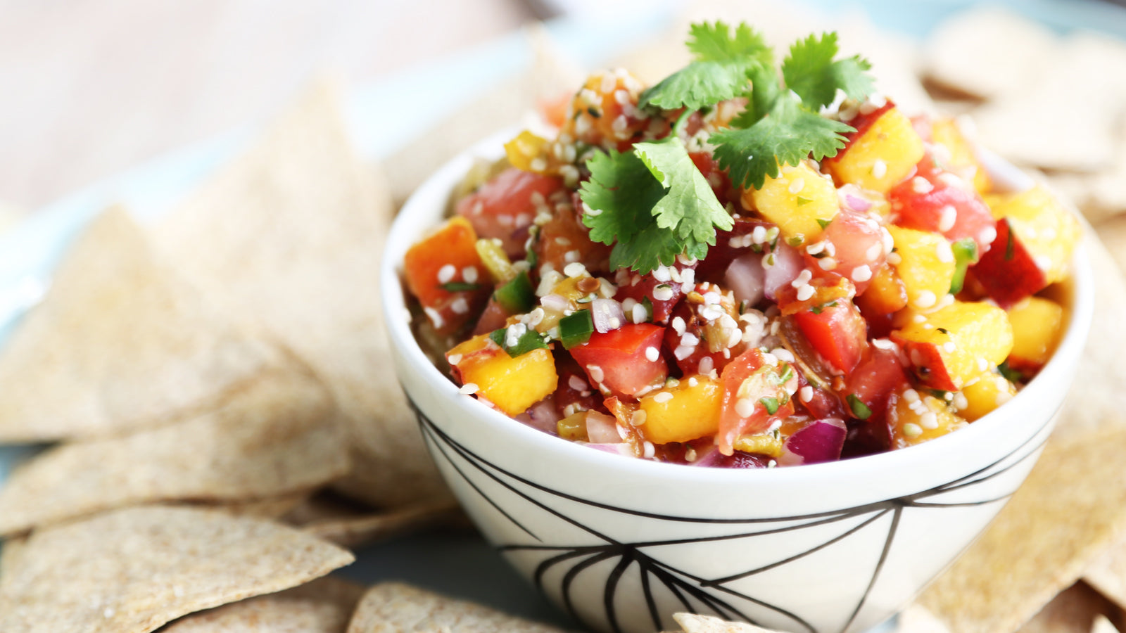 Peachy Hemp Salsa