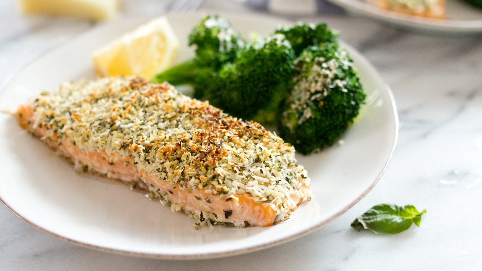 Hemp Hearts Crusted Salmon