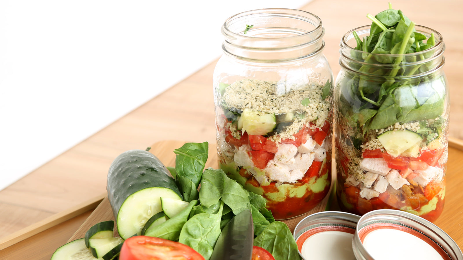 Mexican Mason Jar Salad