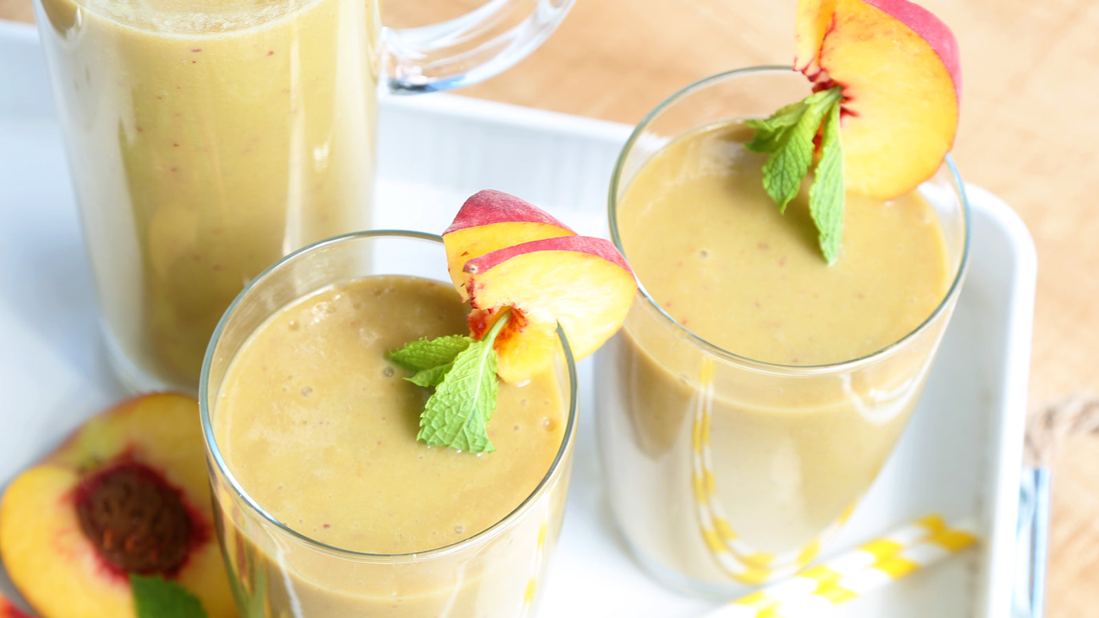 Peach Creamsicle Smoothie