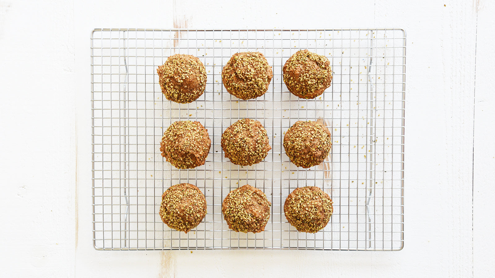 Cinnamon Maple Hemp Muffins