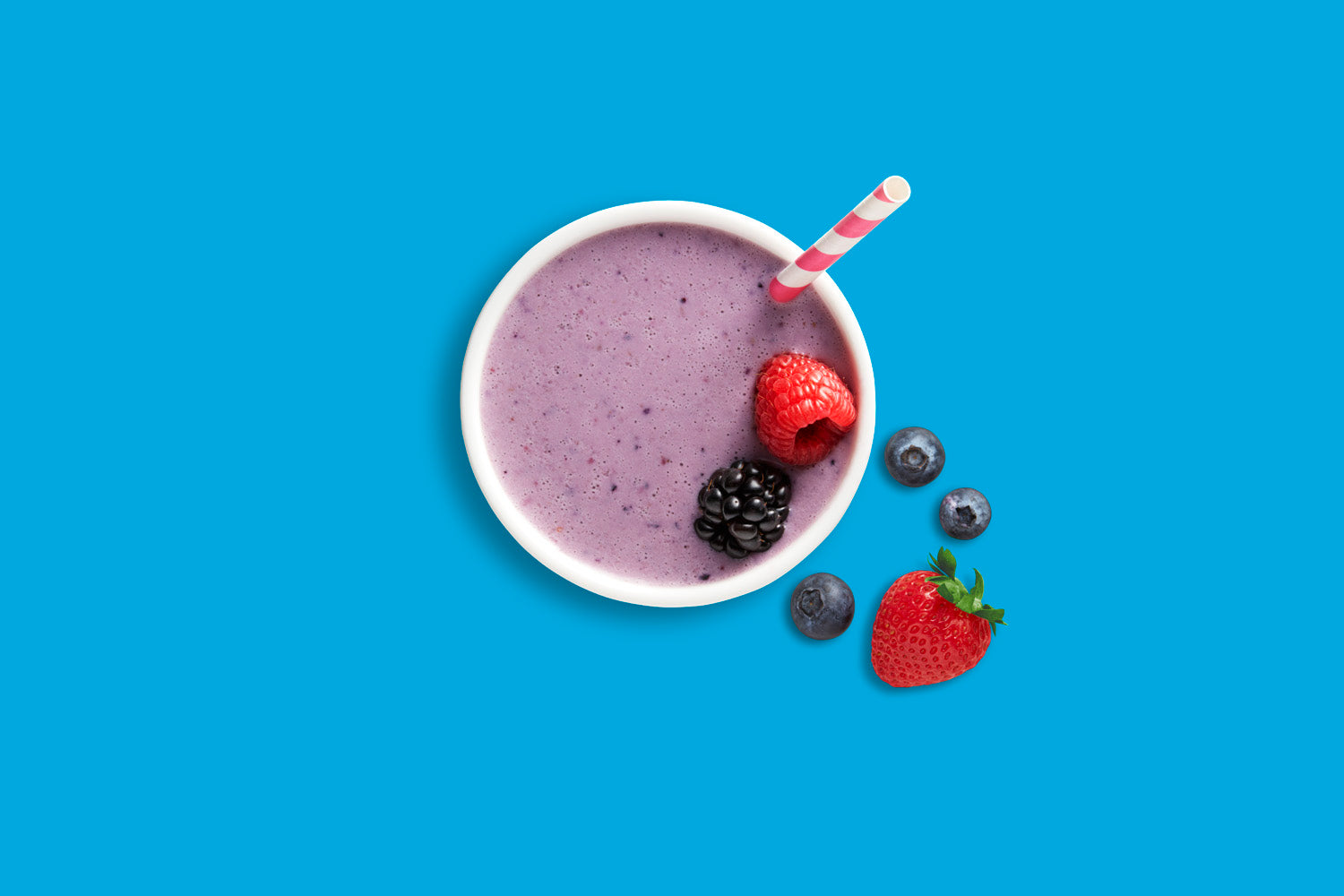 Vanilla Berry Super Smoothie