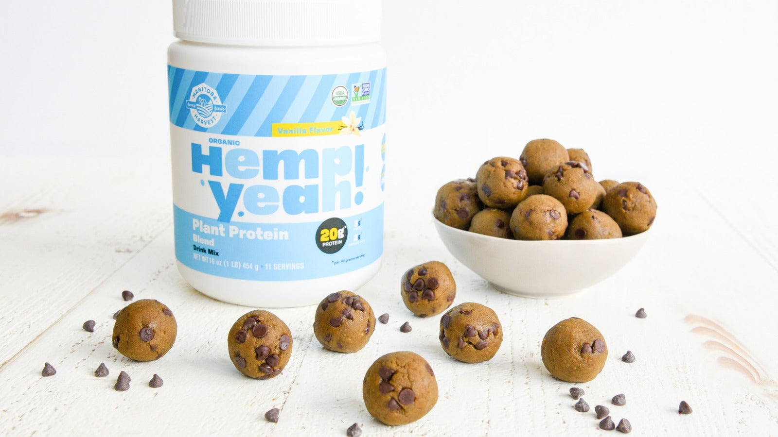 Vegan Cookie Dough Energy Balls