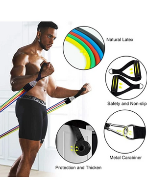 Expander Resistance Bands - Luxury Body Fitness, LLC