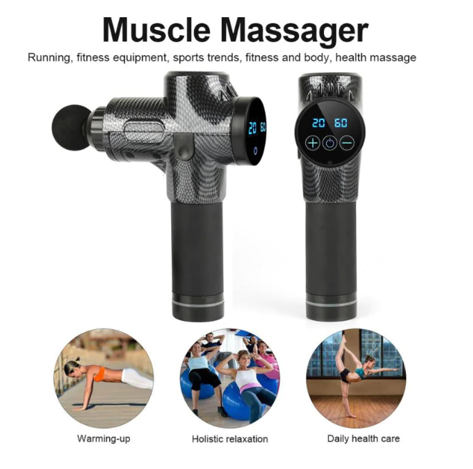 Smart Massage Gun - Luxury Body Fitness, LLC