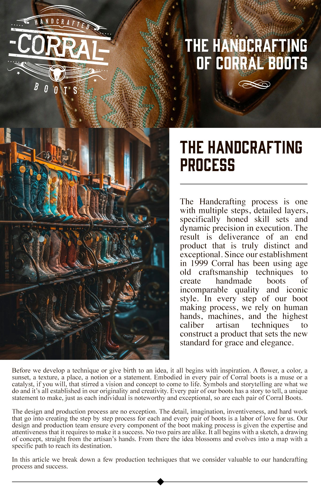 The Handcrafting process