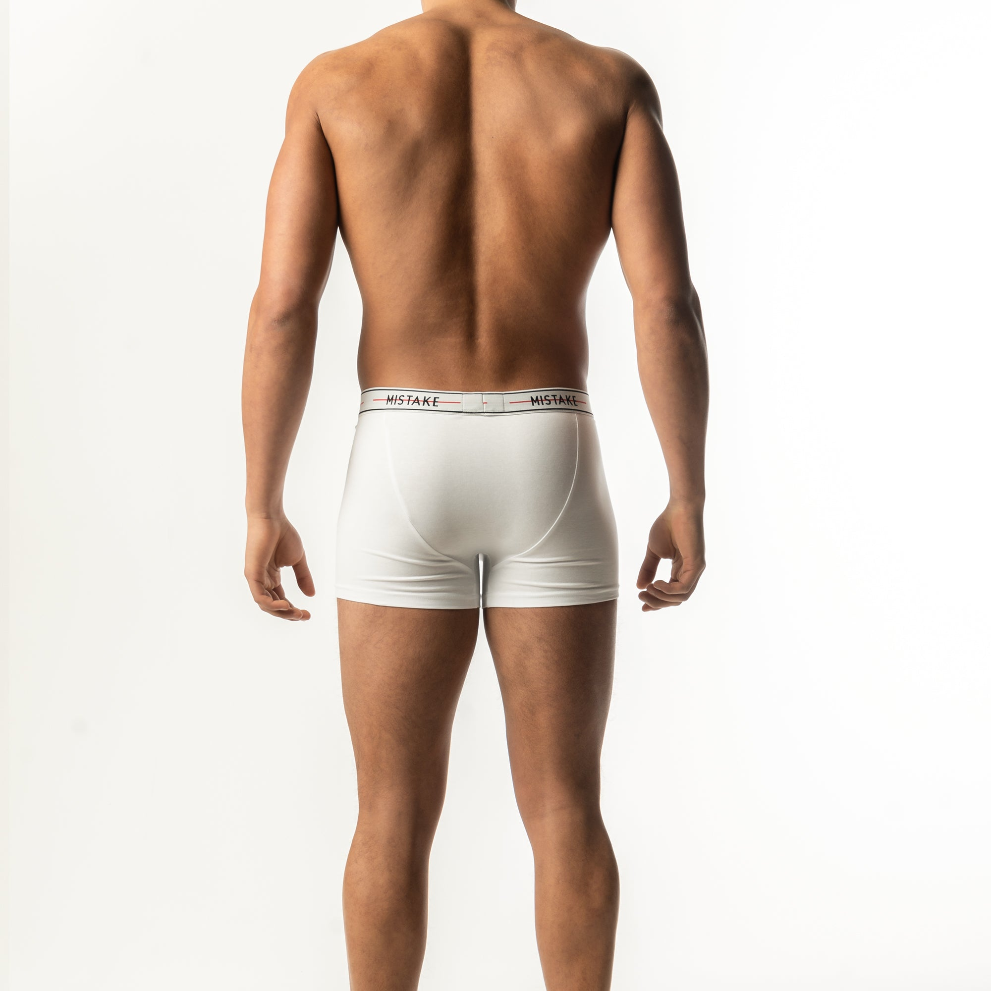Mistake Classic Edition Boxer Shorts (Grey, White and Black)