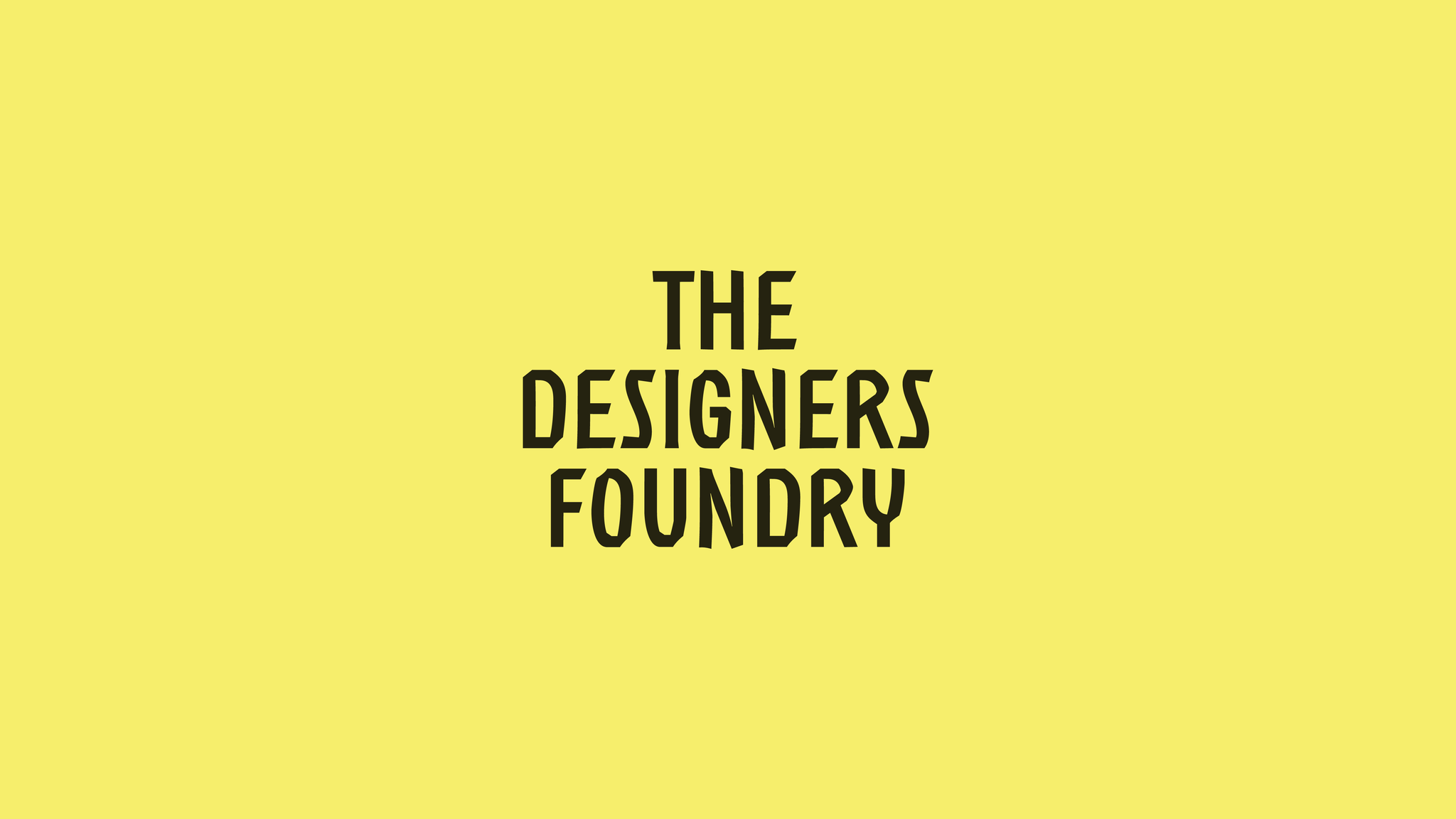 The Designers Foundry
