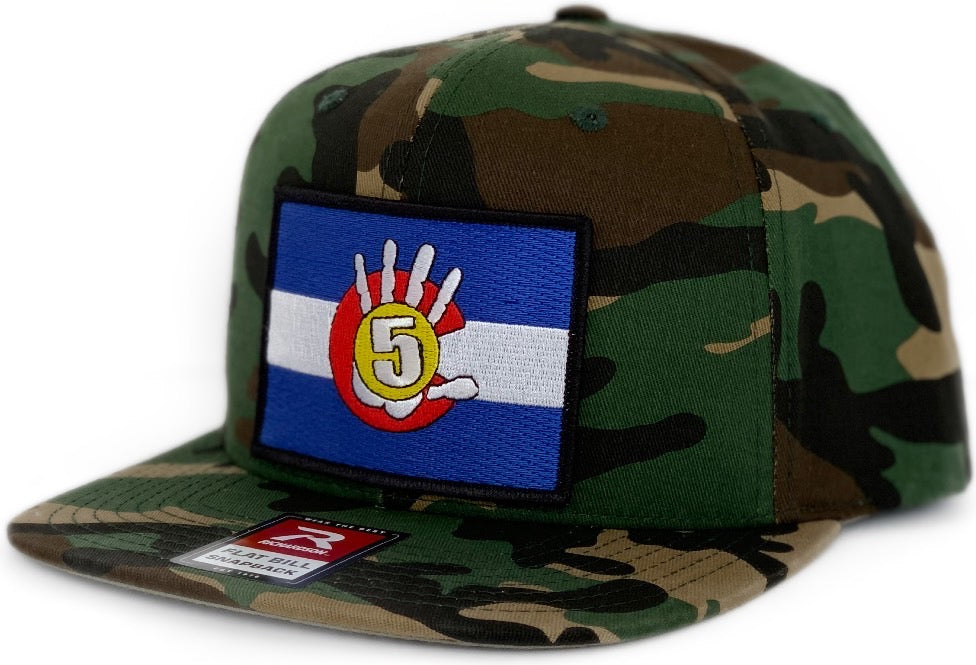 High 5 Colorado Patch Flat Bill Hat (camouflage)