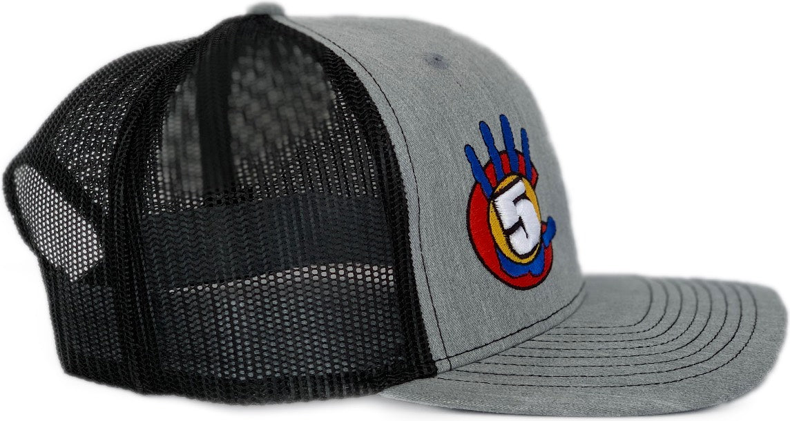 High 5 Colorado Curved Bill Hat (heather/black)