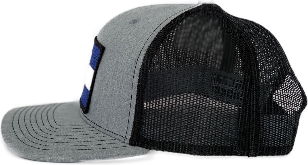 High 5 Colorado Patch Curved Bill Hat (heather/black)