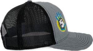 High 5 OG Curved Bill Hat (heather/black)