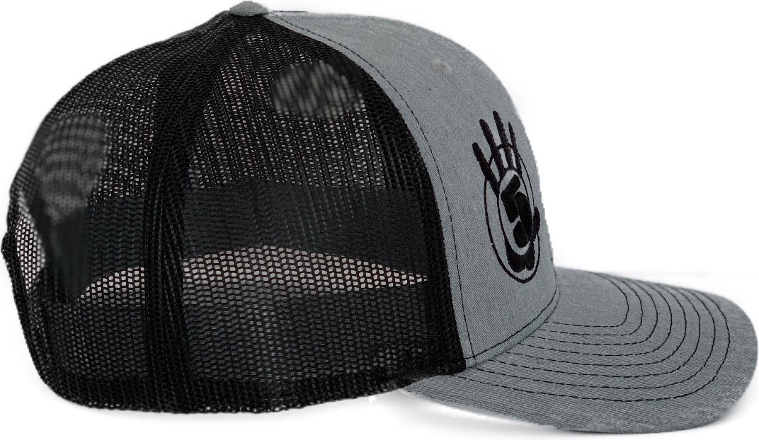 High 5 Curved Bill Hat (heather/black)