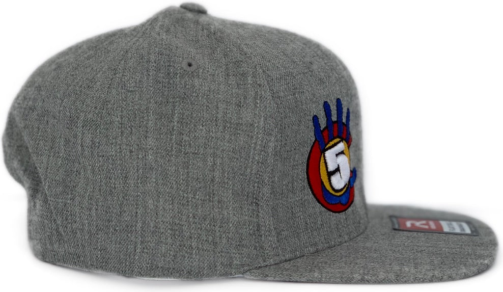High 5 Colorado Flat Bill Hat (heather)
