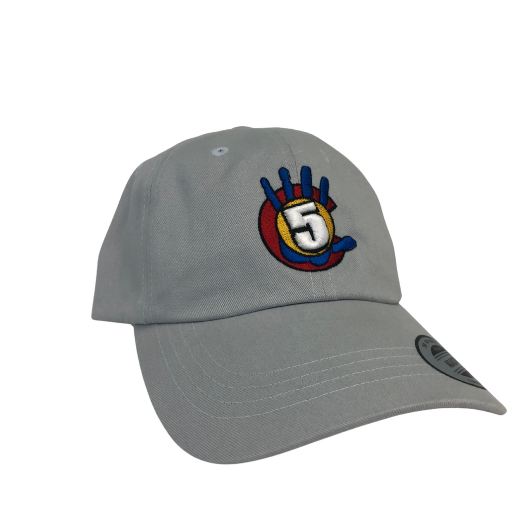High 5 Colorado Unstructured Hat (light grey)