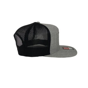 High 5 Freedom Flat Bill Hat (heather/black/flat)