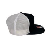 Load image into Gallery viewer, High 5 Freedom Florida Flat Bill Hat (black/white/flat)