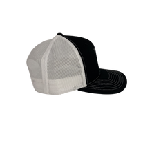 Load image into Gallery viewer, High 5 Original Florida Curved Bill Hat (black/white)