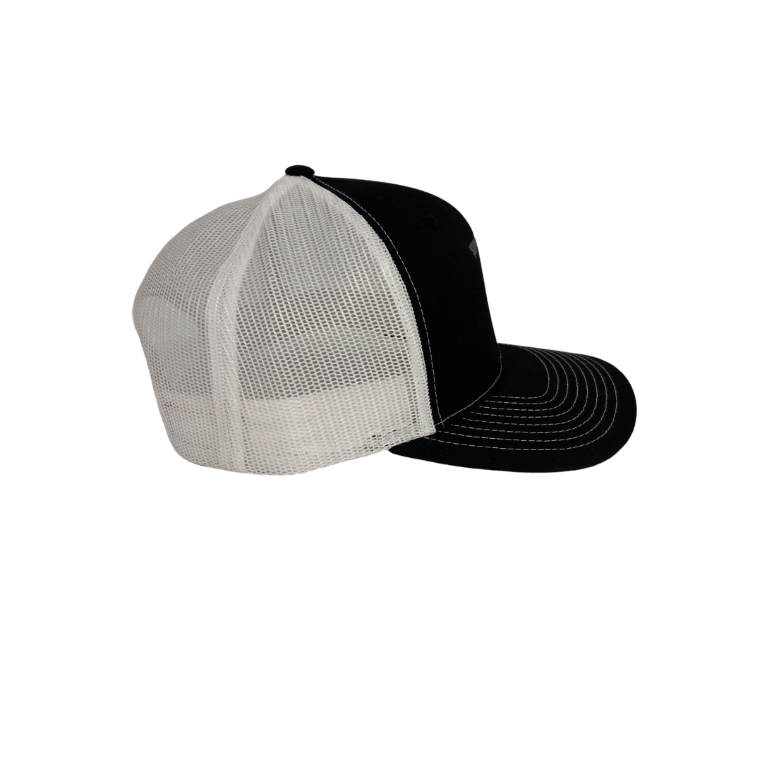 High 5 Original Florida Curved Bill Hat (black/white)