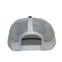 Load image into Gallery viewer, High 5 Freedom Flat Bill Hat (black/white)