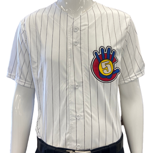 High 5 (Alternate) Jersey - pinstripe