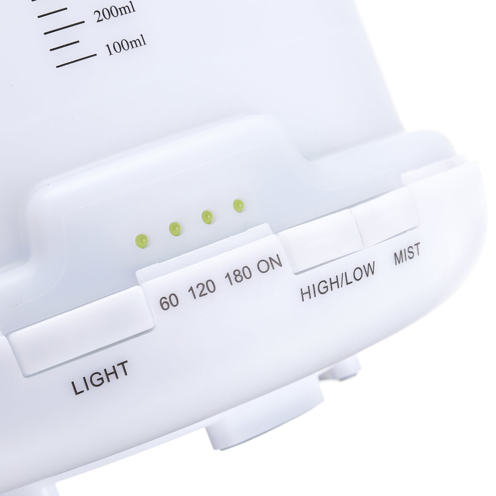 500ml 7 LED Lights Air Purifier Humidifier Mute Timing Home Aroma Air Aromatherapy Diffuser Remote Control