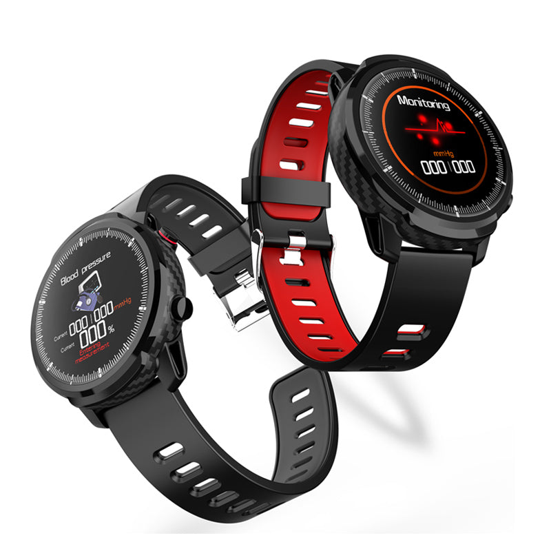 Full Touch HD Screen IP67 Wristband Blood Pressure and Oxygen Monitor Weather Display Smart Watch