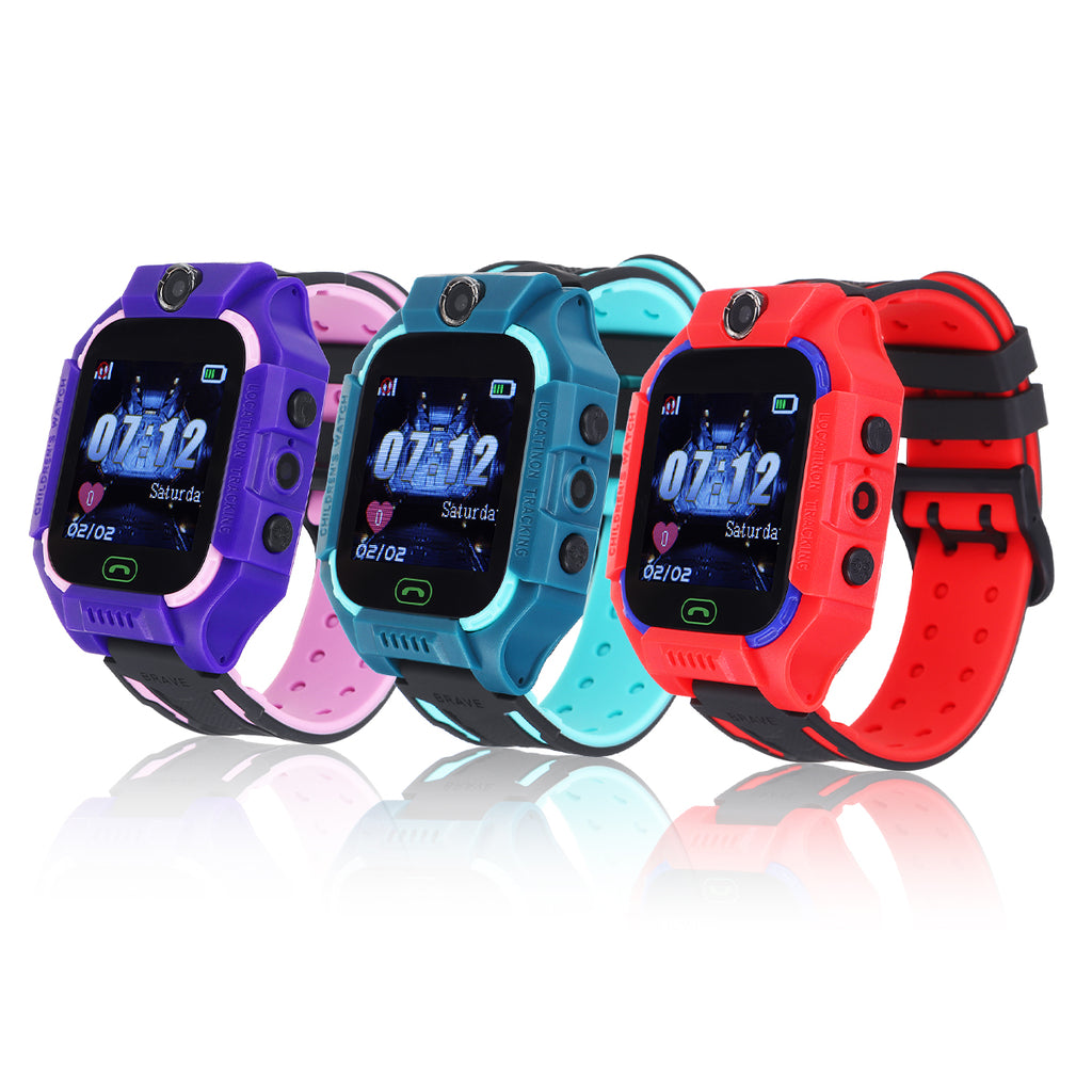 Bakeey Q19 SOS Anti-lost Children Smart Watch Remote Monitor LBS Tracker Kid Watches