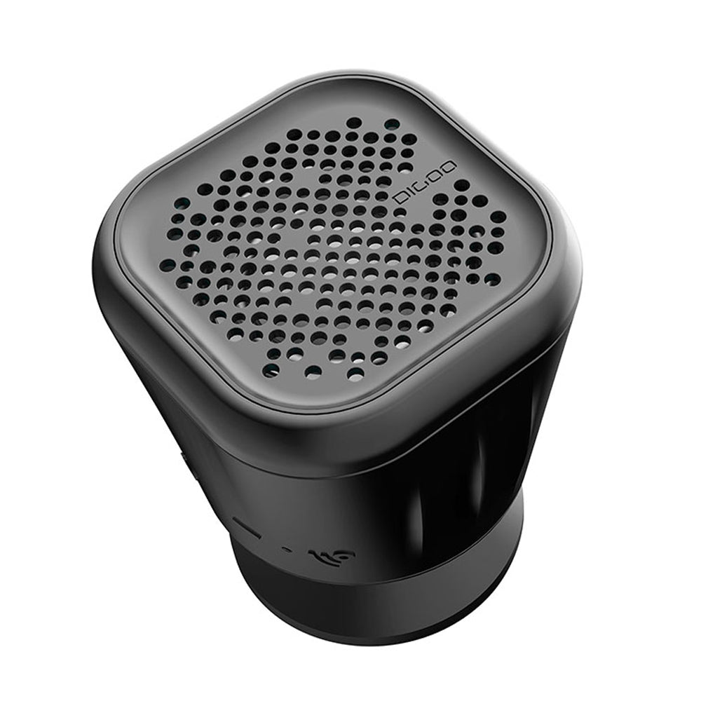 DG-MX10 Waterproof Wireless TWS Bluetooth Speaker for Home Bathroom Outdoor Party Beach with 3W Enhanced Bass, Built-in Mic, Suction Cup