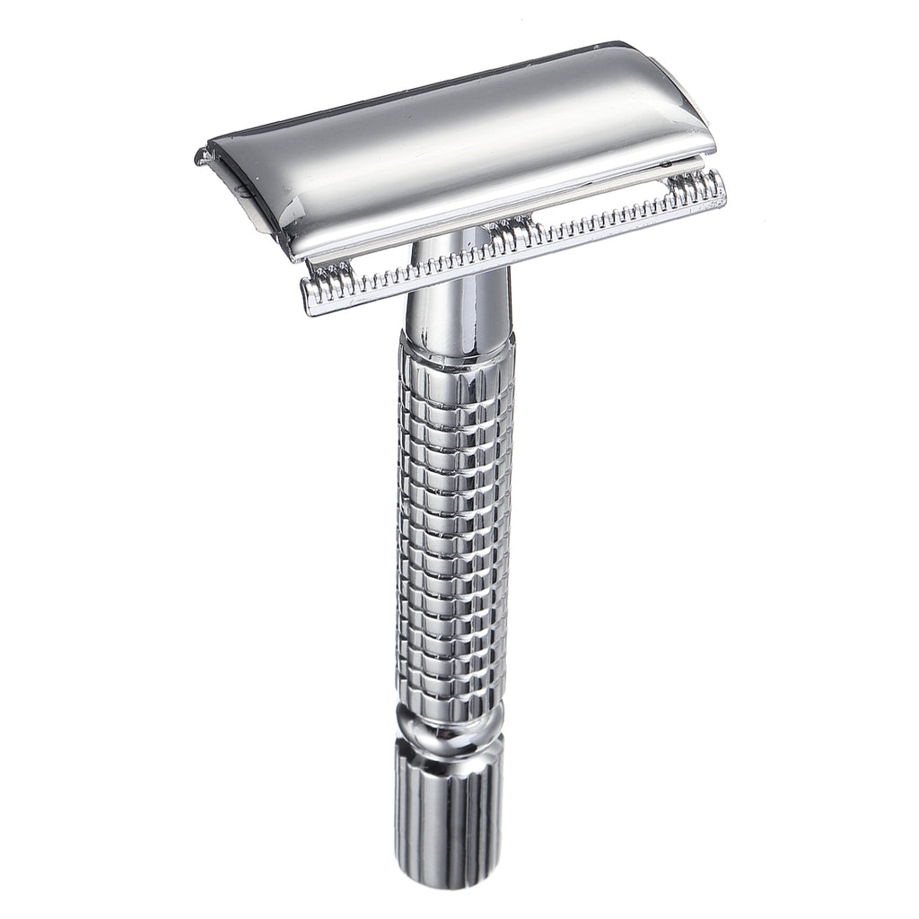 Men's Manual Razor Long Handle W/ Mirror Storage Box