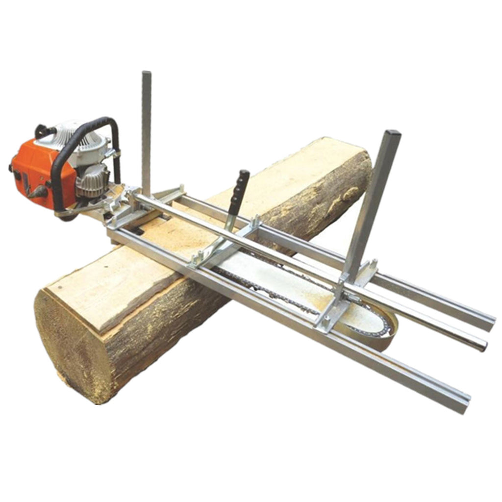 "Portable Chainsaw Mill Planking Milling From 18"" to 48"" Guide Bar Chainsaws Chain Saws Lumber Cutting Tool Kit"