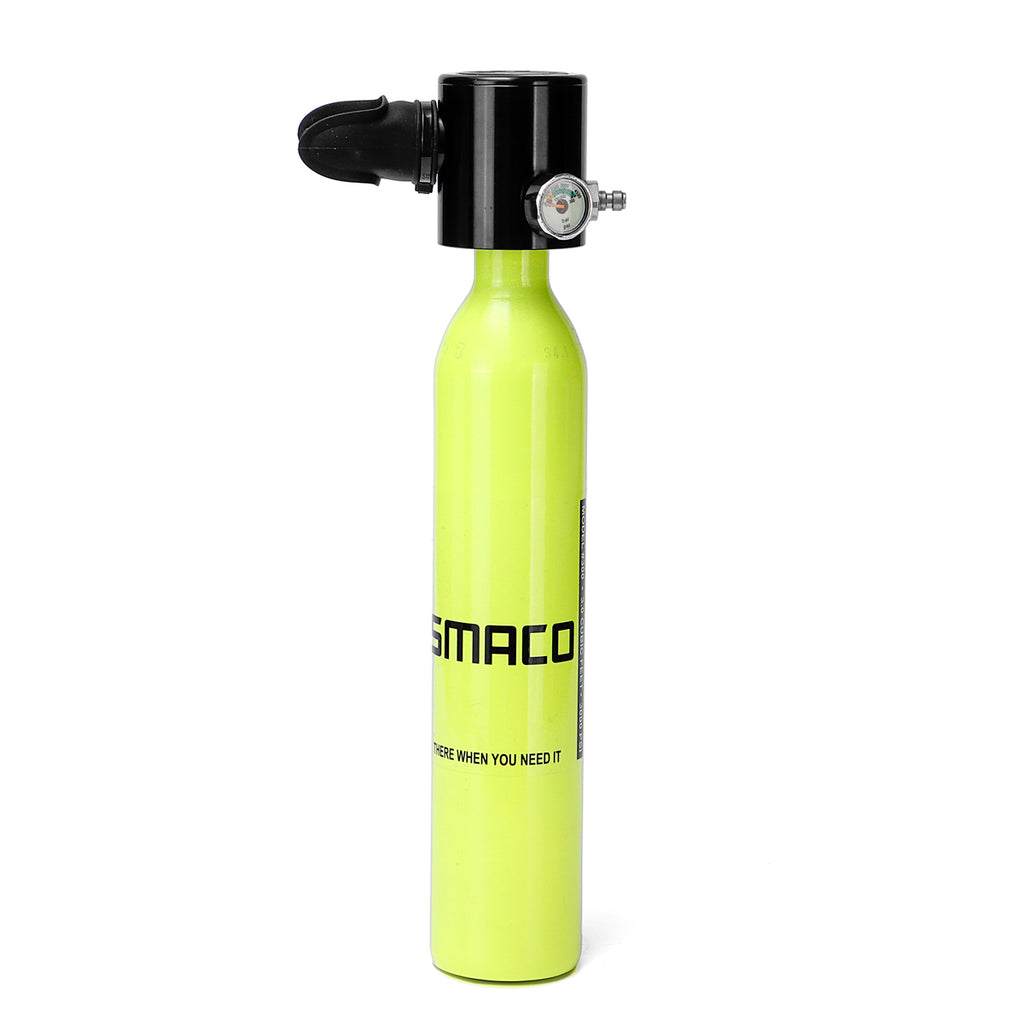 500mL Portable Mini Oxygen Cylinder Air Oxygen Tank Diving Equipment Set Underwater Diving Accessories