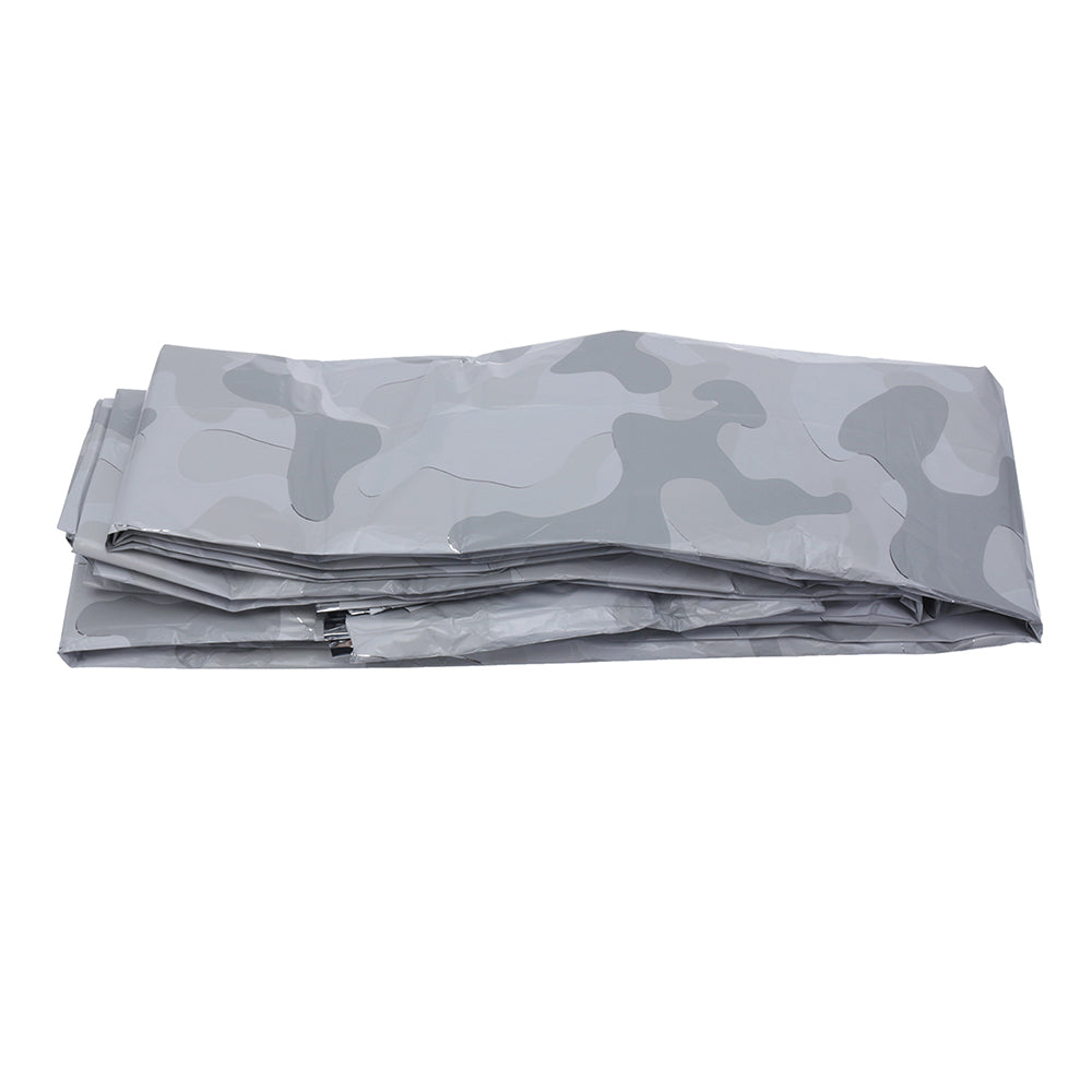 PET Aluminized Film Sleeping Bag Cover Emergency Survival Urgent Thermal Cold