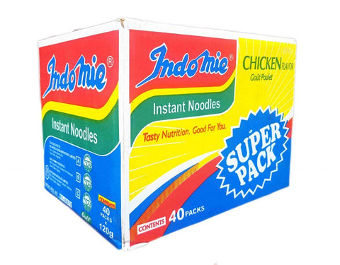 CARTON  INDOMIE CHICKEN FLAVOUR SUPER PACK 120G