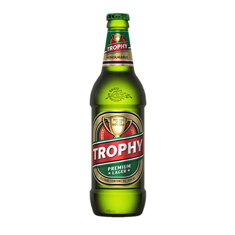 TROPHY PREMIUM LARGER BEER 600ML