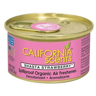 CALIFORNIA SCENTS SHASTA STRAWBERRY AIR FRESHENER  42G