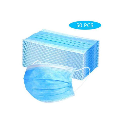 FACE MASK BOX OF 50 X 3 PLY