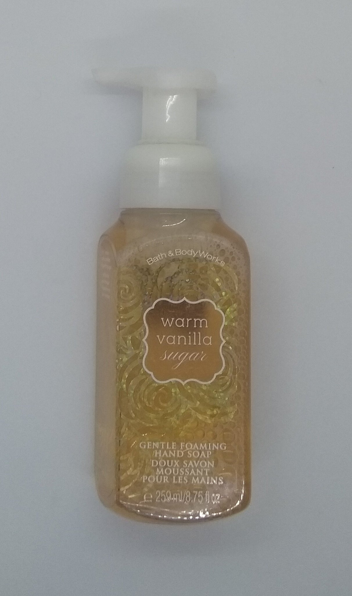 BATH AND BODY WORKS WARM VANILLA SUGAR GENTLE FOAMING HAND SOAP 259ML