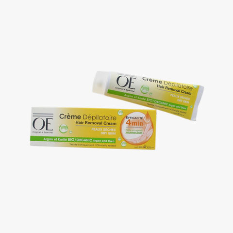 OE HAIR REMOVAL CREAM ORGANIC ARGAN AND SHEA 100ML