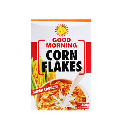 GOOD MORNING CORN FLAKES 450G
