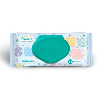 PAMPERS WIPES 64'S